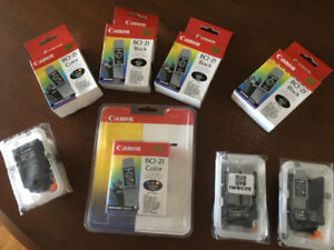bci-21 ink cartridges and printhead canon 4000 series printers
