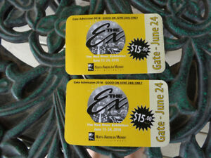 Red River Ex admission tickets