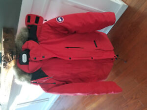 Canada goose vest and jacket