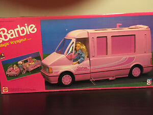 BARBIE MAGIC VOYAGEUR MOTOR HOME - Collectible