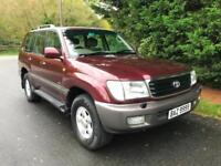 2000 TOYOTA LAND CRUISER AMAZON 4.7 V8 VX 8 SEATER AUTOMATIC 4X4