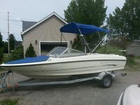 2005 Bayliner 18 Bowrider 3.0 litre , trailer , covers , low hrs