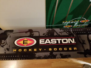 Easton table hockey and soccer game