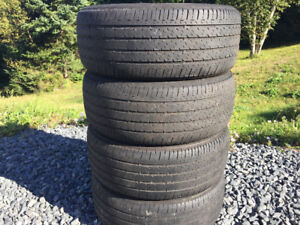 Four Firestone 215/50R17 Summer Tires Excellent Tread