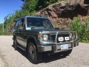 1990 Mitsubishi Pajero 2.5 Turbo Diesel Intercooler