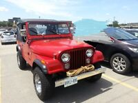 "Jeep CJ7 1986 RESTORED ""New Price"""