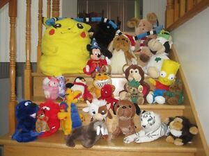 Belles peluches / Toutous / Stuffed animals  - Collection