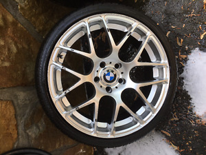 BMW 19 inch Mag Rims and tires -