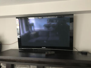 Panasonic 50inch Plasma Tv with mount
