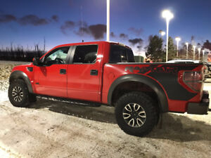 2012 Ford F-150 SuperCrew RAPTOR Pickup Truck