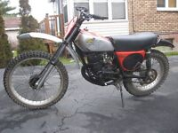 1975 Honda Elsinore CR125M $2000 or trade for sports touring??