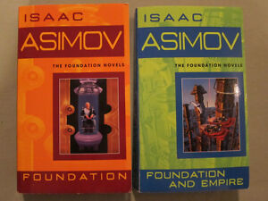 Foundation & Foundation and Empire by Asimov (Retail:$23) for $8