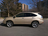 2008 Lexus RX 400h - Hybrid SUV - AWD, 3.3L V6, Golden Almond