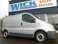 2013 Vauxhall VIVARO 2700 CDTI ECOFLEX SWB Van *SILVER* Manual Medium Van