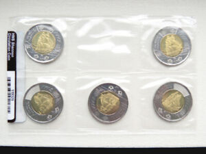 CANADA 2012 Collector Card THE WAR OF 1812 with 9 coins BU From roll
