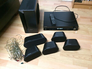 Samsung HT-X40 5.1-Channel DVD Home Theater System