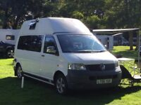VW campervan T5 high top