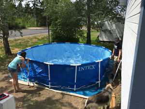 SWIMMING POOL - USED 1 MONTH ONLY - BRAND NEW CONDITION
