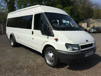 2004 04 Ford Transit 2.4 tdci 100PS 3.5 TON 17 SEATER BUS**99k MILES ONLY**
