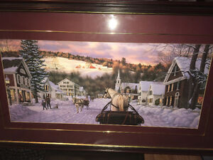 Gorgeous framed and matted picture Peterborough Peterborough Area image 1