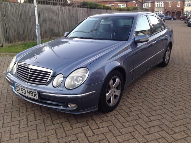 2003 mercedes benz e class 2 7 e270 cdi avantgarde 4dr in luton bedfordshire gumtree. Black Bedroom Furniture Sets. Home Design Ideas