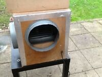 Extractor for canopy