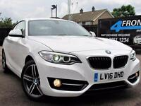 2016 BMW 2 SERIES 218D SPORT AUTOMATIC COUPE DIESEL COUPE DIESEL
