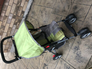 stroller and baby bouncer and sit n stand lx