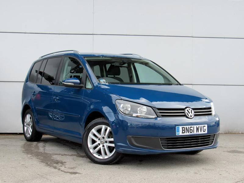 2011 VOLKSWAGEN TOURAN 1.6 TDI 105 BlueMotion Tech SE 5dr MPV 7 Seats