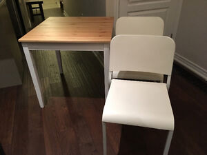 New IKEA table and chairs