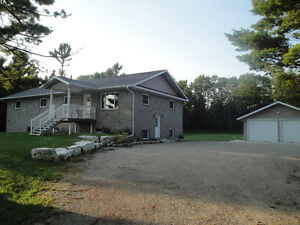 Upscale Manitoulin Island home built in 2009 recently reduced.