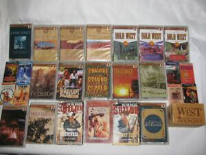 Audio Books Western Cassette Tapes Zane Grey Max Brand & More