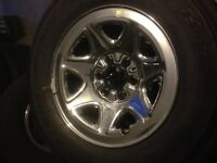 GMC / Chevy 1500 rims and tires. NEW