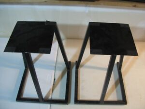 Apollo England all metal speaker stands