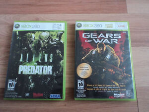 Aliens vs predator + Gears of war