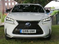 2016 16 LEXUS NX 2.5 300H F SPORT 5D AUTO 153 BHP