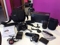 Panasonic GH4 DSLR Camera Kit 2x lenses and tripod