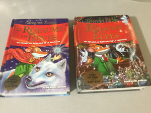 "Geronimo Stilton - French books with ""pages that smell"""