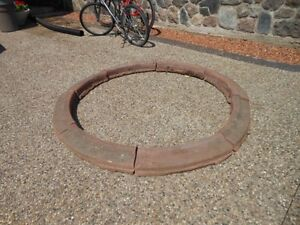 camp fire ring or garden stone