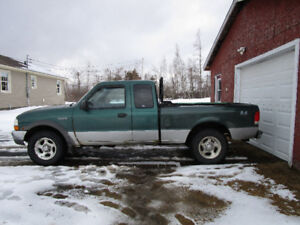 2000 Ford Ranger 4x4 ex-cab for sale