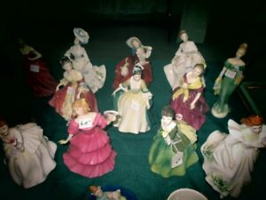 royal doulton figurines $70 each