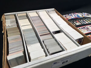 Large card collection. Hockey,  baseball  cards.  Must sell