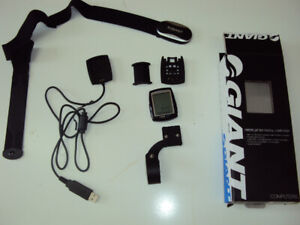 Giant Neos Pro+ ANT+ Bicycle Computer & Heartrate Monitor