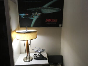 Star Trek phone and Lighted picture frame.