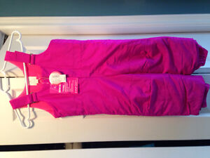 Girls NWT snowpants size 3t