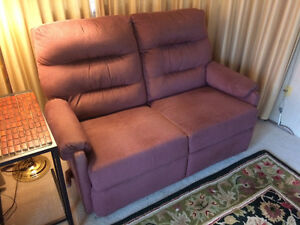 PRICE REDUCED TO $195-RECLINER: TWO-SEAT--MANUALLY OPERATED Peterborough Peterborough Area image 2