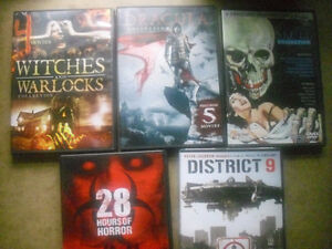 36 Horror Movies on 5 DVD collections + Bonus DVD