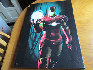 Various Limited to /99 Gallery Wrapped Canvas Marvel Posters