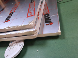 10 x Insulation Boards (2400mm x 1200mm) 25mm thickness