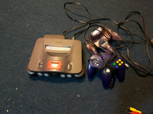 Flat Back, Working N64 with Booster pack